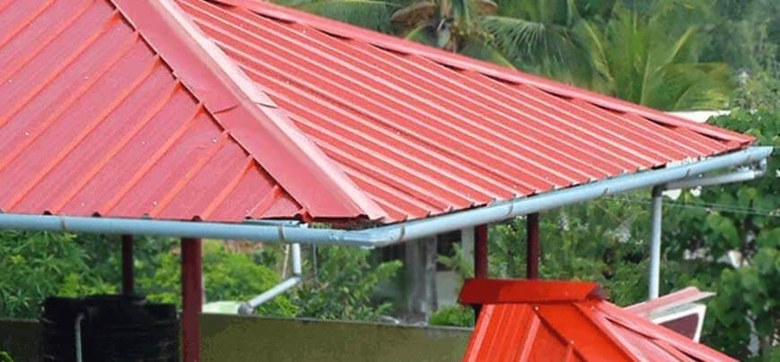Perfect Interiors Exteriors Best Quality Low Cost Galvalume Gi Roofing Contractors Workers In Trivandrum Kerala Gi Roofing Sheet Dealers Gi Roofing Materials Galvalume Roofing For House Villa Apartments Commerc