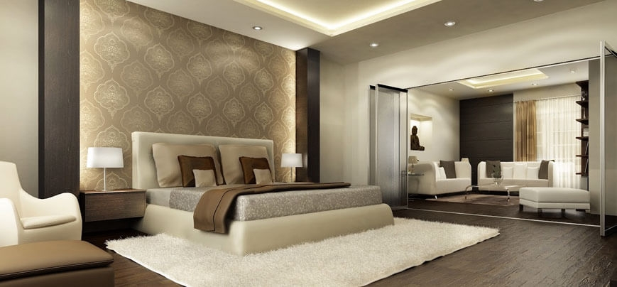 . Best bed room interior designers and contractors in Trivandrum